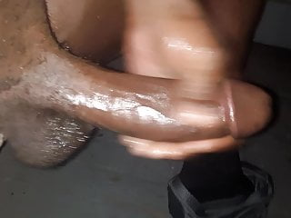 Bbc midnight full nude lube and stroke...