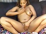 Sexy black webcam girl