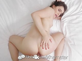 Tiny4K - Kylie Quinn gets her soaking wet pussy fucked