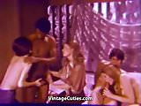 Interracial Swingers Fucking Orgy (1960s Vintage)