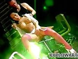 Asian babe Asa Akira getting her pussy drilled