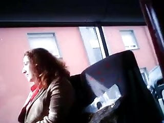 public masturbation in bus and train