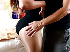 Big tit Maria is a dedicated cock sucker on video