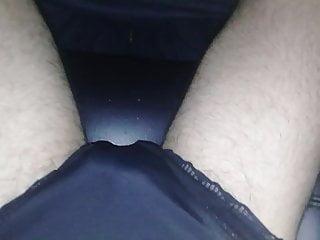 Black panties mikasissy...