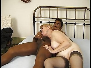 fat old lady takes a black cockPorn Videos