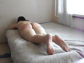 barefeet spanked