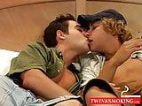Blonde Zack begs Randal for some huge dick penetration