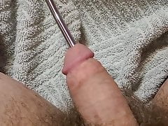 8 mm Sound Uretheral Prostate Stimulation.