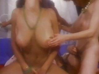Has orgy with three sexy sluts...