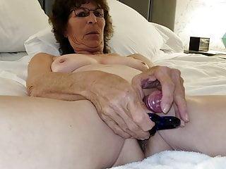with Mature Granny Anal  Masturbating