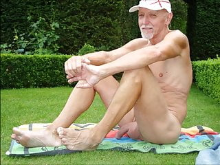 naked oldies outdoors