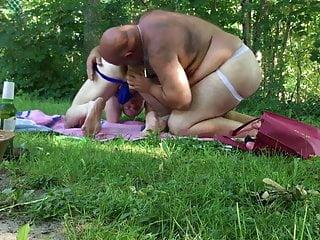 Goes to jockstrap camping...