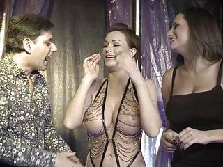 Magician tricks assistants...