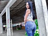 LETSDOEIT - Oily Pick Up & Fuck With Busty Latina MILF