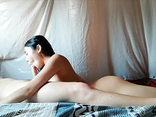 Asian GF provides rimjob and cock sucking with finishing facial
