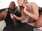 First big black cock for Harley Jade