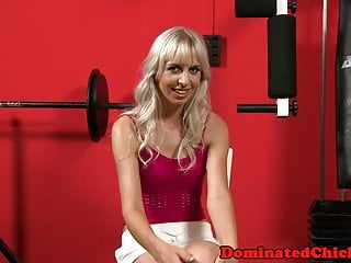 Anally pounded beauty submits to maledom