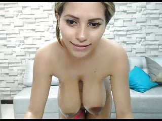 NILEY MASTURBATES WHILE HER MILK IS DRIPPING FROM HER TITS