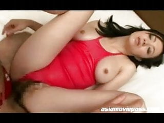 Swimsuit Beauty Asian MILF Pussy Orgasm Show emrd007