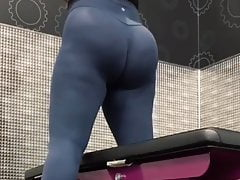 Thick Ass working out