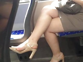 Candid Sexy Crossed Legs 12