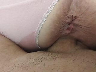 Doggystyle and missionary fuck with creampie