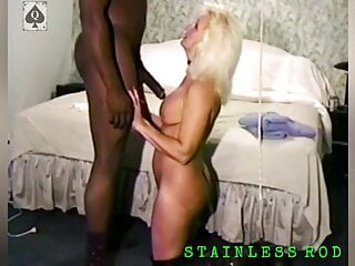 MrsB, Master BBC Bull uses her & Makes her swallow his Cum