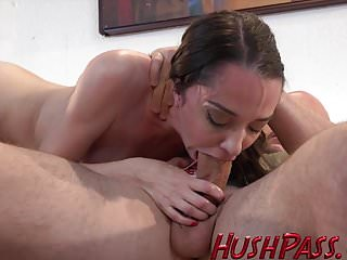 Nikki worships a big white dick!