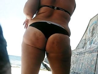 Relaxing on beach...