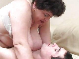 Huge boobs wants sex on the sofa...
