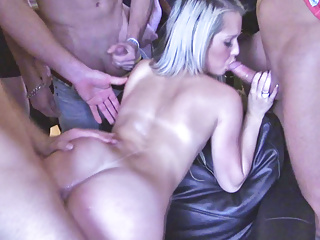 Gang Czech Bang at Mass Party impregnation