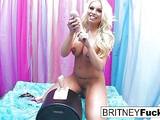 Britney Loves To Ride The Sybian