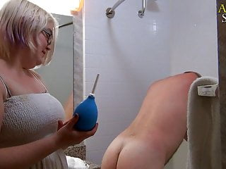 TRAILER: Femdom Offers Ass Douche Till Asshole Prolapse