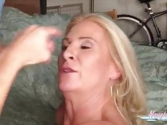 Joannameadows Deepthroats Tinder Date Until He Unloads On Her Face