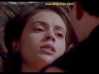 Alyssa milano in embrace of the vampire...
