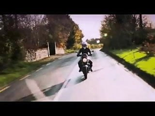 British motorbike slut fucks an Irishman part 5