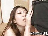MILF Japanese Sanae Siraishi wants cock inside her
