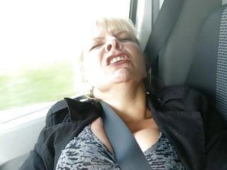 German older woman in Public Masturbate