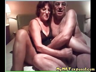 My hot milf Uncovered  Granny lover having enjoyable with husband
