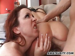 With anal and facials...