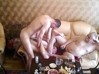 Grandpa play cock...