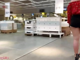 Satan-Sophie: Heavy public cock sucking within the furnishings retailer