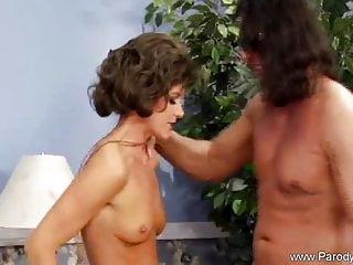 Seventies Redhead Mom Rides Hard Cock Until It Satisfied