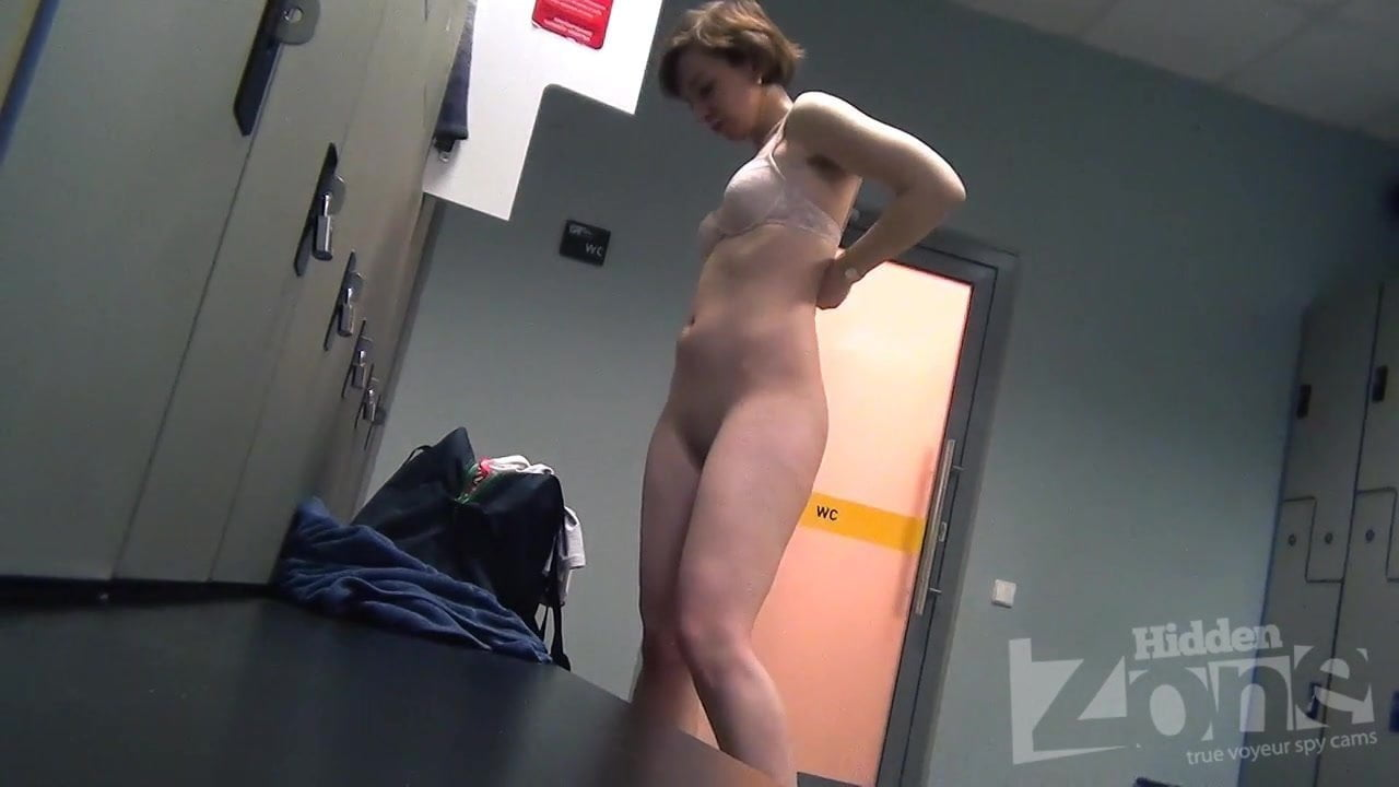 Nude Public Changing Room