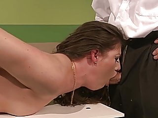Dirty bitch gets punished