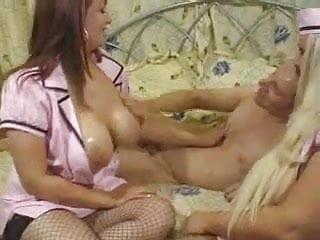 Sexy Stewardesses Threesome