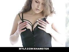 mylf - busty thick milf gets fucked in bathroom by big dickfree full porn