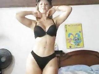 Mature latina stripping...