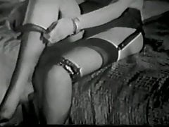 Vintage tease with stockings 4