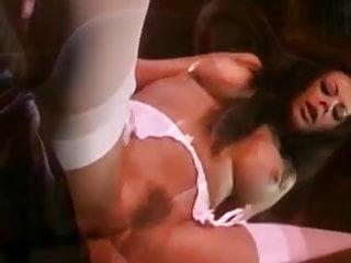 Olivia fucking in white stockings
